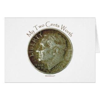Moneda de diez centavos de la foto felicitaciones