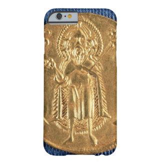 Moneda de oro, con St. John el Bautista, siglo XVI Funda Barely There iPhone 6