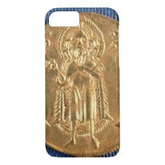 Moneda de oro, con St. John el Bautista, siglo XVI Funda iPhone 7