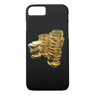 Moneda de oro, tesoro del pirata funda iPhone 7