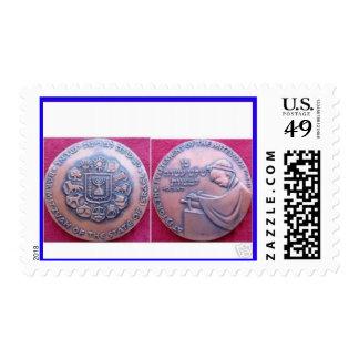 Moneda del muchacho de Mitzvah de la barra Franqueo