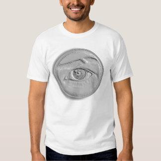 Moneda del ojo camisas