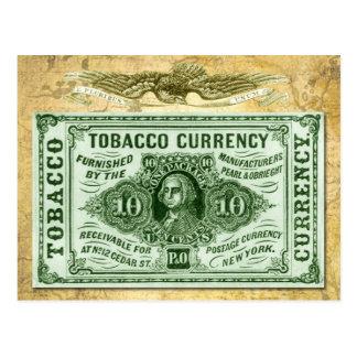 Moneda del tabaco 10¢ postales