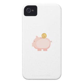 Moneda en guarro iPhone 4 funda