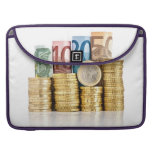 moneda euro funda para macbooks
