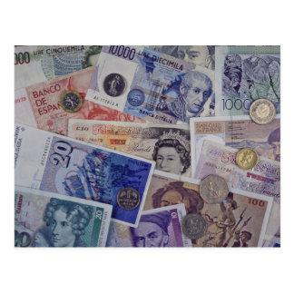 Moneda europea postales