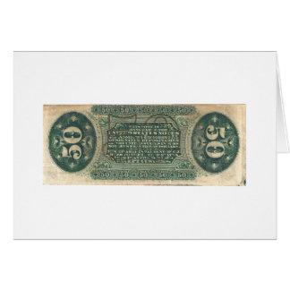 moneda fraccionaria 50-Cent cuenta del hilandero Felicitaciones