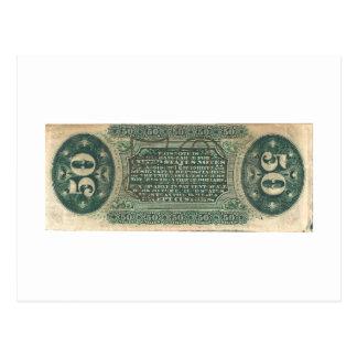 moneda fraccionaria 50-Cent cuenta del hilandero Postal