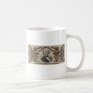 moneda fraccionaria 50-Cent (cuenta del hilandero) Taza De Café