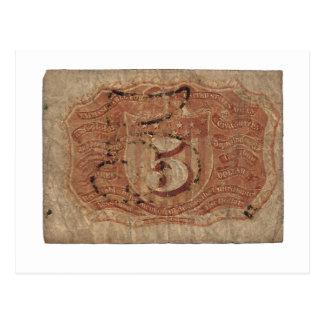 moneda fraccionaria 5-Cent Postal