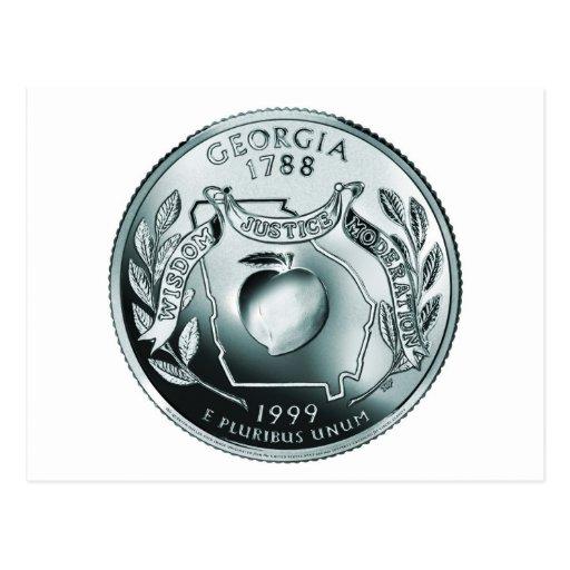 moneda - imagen postal