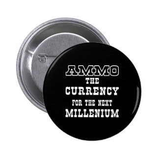 Moneda negra de la munición el milenio próximo pins