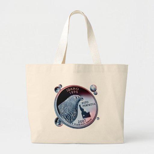 moneda - puñado bolsa tela grande