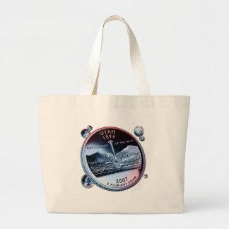 moneda - puñado bolsas lienzo