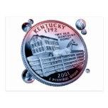 moneda - puñado postal
