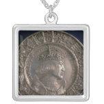 Moneda que lleva el retrato de Charles V Colgante