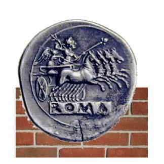 moneda romana fotoescultura vertical