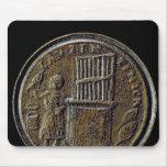 Moneda romana que representa un órgano alfombrillas de ratones