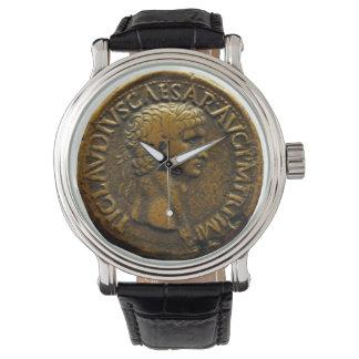 Moneda romana relojes de pulsera
