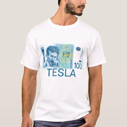 Moneda servia v1 de la camisa de Nikola Tesla