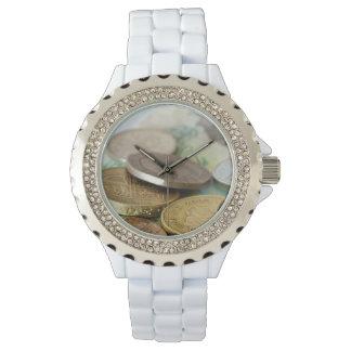 Monedas británicas reloj