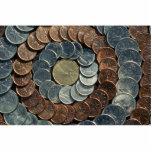 Monedas canadienses escultura fotografica