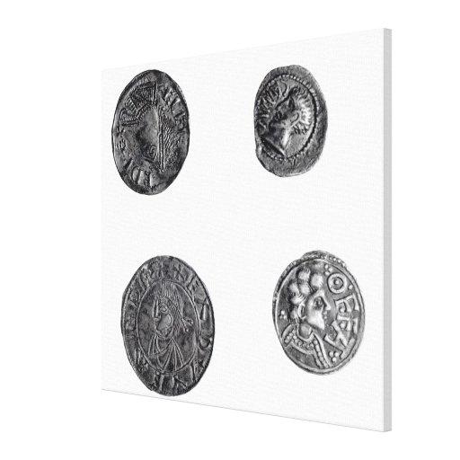 Monedas de Cunobelinus o de Cymbeline Impresión En Lona