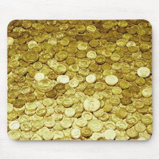monedas de oro tapetes de ratones