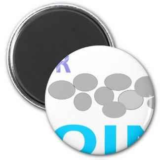 monedas de plata imán redondo 5 cm