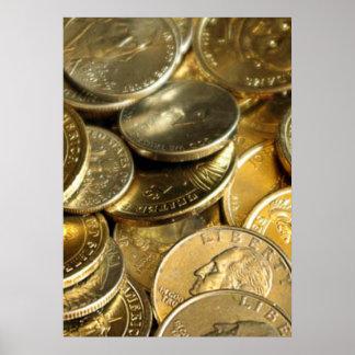 Monedas frecuencia intermedia póster