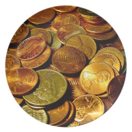 Monedas Platos
