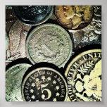 Monedas Poster