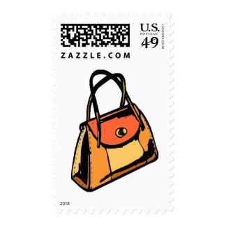 Monedero anaranjado sellos