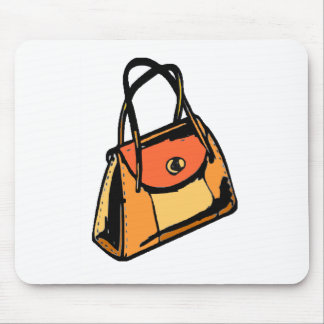 Monedero anaranjado alfombrillas de raton