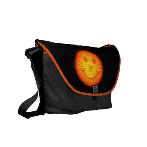 Monedero de encargo/bolso del globo feliz bolsa de mensajeria