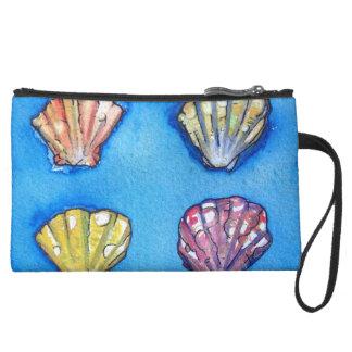 Monedero de la sirena del bolso de la playa del