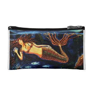 Monedero de la sirena por el arte de Susan Rodio