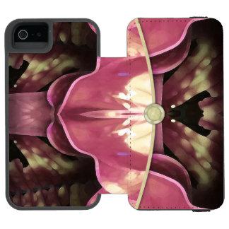 Monedero de la tarde funda billetera para iPhone 5 watson