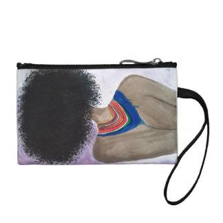 Monedero del diseño del Afro
