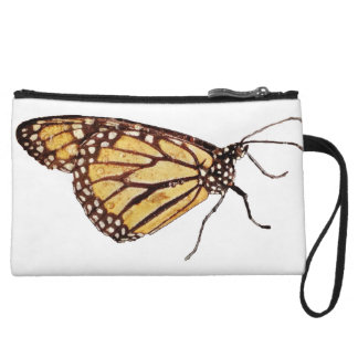 Monedero del embrague de la mariposa de monarca mi
