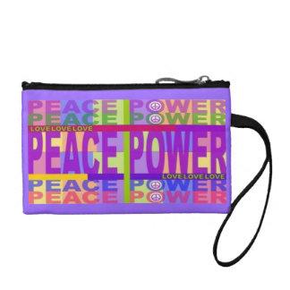 Monedero del poder de la paz