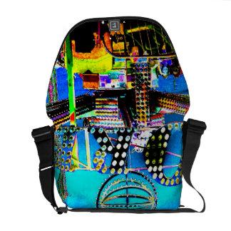 Monedero justo del diseñador de la foto del arte d bolsa de mensajeria