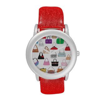 Monederos enrrollados coloridos para cada PURSEona Relojes De Pulsera