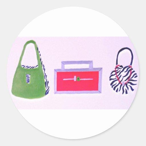 Monederos… un mejor amigo de los chicas etiquetas redondas