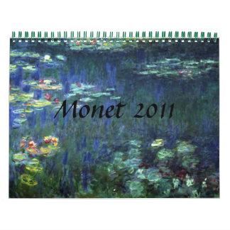 Monet 2011 calendar