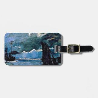 Monet A Seascape Shipping Bag Tag