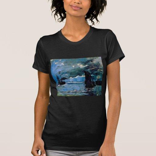 Monet A Seascape Shipping Shirts