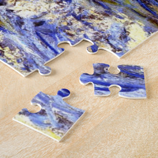 Monet - A Stormy Sea Jigsaw Puzzle