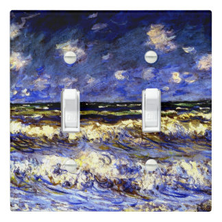 Monet - A Stormy Sea Light Switch Cover