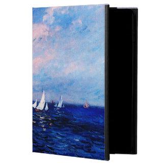Monet-Acantilados y veleros de Claude en Pourville